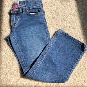 Girls size 8 plus bootcut jeans